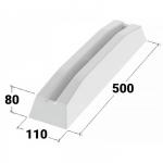 Кранец причальный 480 мм белый