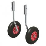 """Комплект колес транцевых удлиненных для НЛ типа """"Ротан"""" 260 мм."""