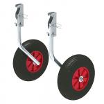 Комплект колес транцевых откидных с защелкой для НЛ 260 мм