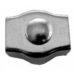 Зажим для тросов одинарный нерж.сталь 6 мм.