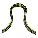 Линь плавающий плоский 10мм*25м желто-черный 115403P