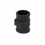 Втулка весла 35 мм пластмасса, черная 122003МB