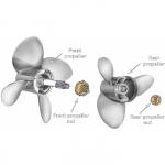 Винт Solas B3_SS 1654-155-24 левого вращения для Mariner/Mercury