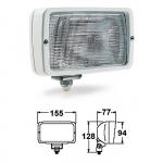 Прожектор палубный 1-ламповый 155х94х77 мм