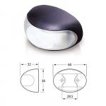 Светильник для подсветки палуб и трапов светодиодный белый
