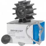 Крыльчатка помпы охлаждения двигателя Yanmar 500108CGT для CEF 145410-46090, 124310-46090