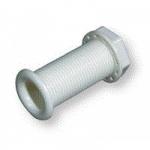 Стакан дренажный 30х80 мм, белый пластмасса 6016_80W