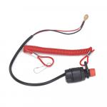 Кнопка аварийного выключения двигателя с чекой Yamaha 688-82575-01 для KACAWA  688-82575-02-00, 688-82575-01-00