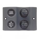 Панель переключателей MICRO 2шт(1x2 вкл/выкл, 1x3 вкл/выкл/вкл)