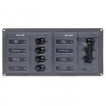 Панель переключателей 4шт с предохранителями переменного тока