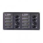Панель переключателей с предохранителями постоянного тока