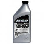 Моторное масло Quicksilver Premium Plus для лодочных моторов (2Т, синт.)