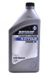 Масло моторное Quicksilver для лодочных моторов (4Т, 25w40, минер.)