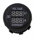 Вольтметр цифровой 6-30 В и амперметр, 0-10А