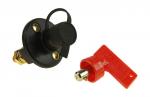 """Выключатель массы-ключ """"OFF-ON"""" (1 АКБ) 300А 12-48 В с защитным колпачком"""