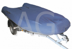 Чехол для транспортировки лодки ПВХ 350-370 см, голубой