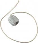 Колпачок уключины фиксирующий серый (для ПВХ лодки)