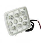 Прожектор палубный светодиодный 98х111мм, 10 диодов