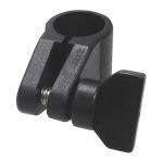 "Кронштейн рамы тента 3/4""скользящий, черный пластик с пласт.винтом CS0002"