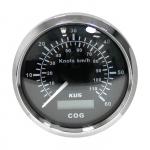 Спидометр GPS аналоговый (BS), 60 узл. KY08011