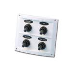 Электрическая панель 4 выключателя