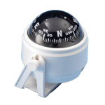 Компас магнитный белый d50mm/h80mm