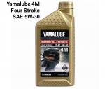 Моторное масло Yamalube 4M для лодочных моторов (4Т, 5W30, синт.)