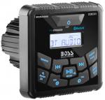 Магнитола USB/AUX/FM 240W квадрат