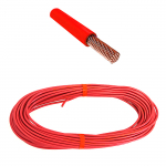 Провод 4 мм красный (упак 20 м)