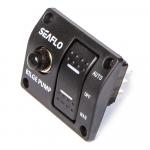 Панель с трехпозиционным переключателем SeaFlo SFSP-015-02