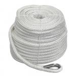 Плетеный якорный трос 10мм*45м белый STALW04