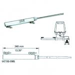 Гидроцилиндр 132 куб.см, бокового крепления UC132-OBS