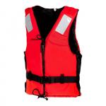 Жилет Active Zipper/reflex красный 50-70